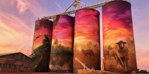 Australia's Silo Murals Make a Road Trip an Art Odyssey