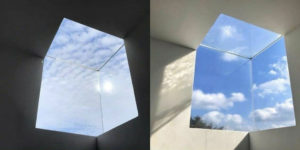 A Non-Standard Architectural Solution: This Cubic Window Is Like a Passage to A Parallel World