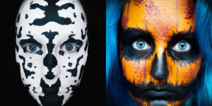 This Artist Uses Her Face As A Canvas