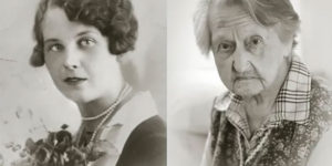 Photographer Captures Side-By-Side Portraits of People Over 100 with Their Younger Selves
