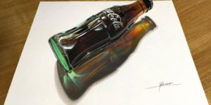 Realistic 3D Drawings By This Japanese Artist Look Like Optical Illusions