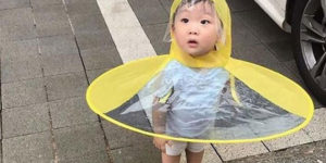 This UFO Raincoat Is So Much Better Solution Than an Umbrella!