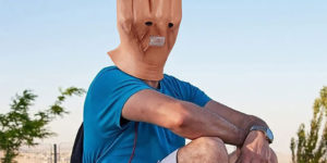 This Middle Finger Halloween Mask Might Be The Ultimate Costume For 2021
