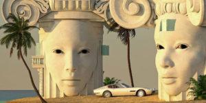The 3D Digital Minimalist Architectural Artworks by Dani Miras