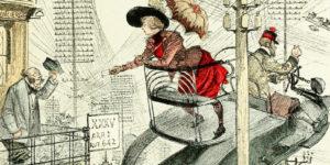 """The Future Imagined in Albert Robida's """"La vie électrique,"""" 1890"""