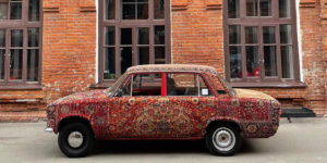 This Carpet-Covered Lada Is the Most Soviet-Era Car Ever Made