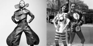 Creative Fashion Designs by Kansai Yamamoto in the Early 1970s