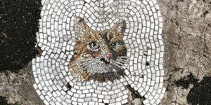 Artist Jim Bachor Fills Potholes With Funny Mosaics