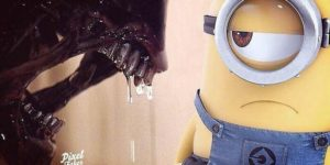 This Artist Creates Hilarious Combinations Of Popular Characters In Iconic Scenes