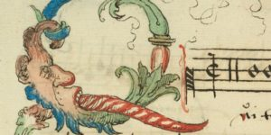 Weird And Wonderful Illustrated Letters From A 16th Century Songbook
