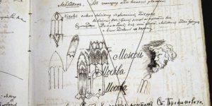 """Art of The Doodler"": Fyodor Dostoevsky Draws In His Manuscripts"
