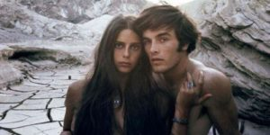 Photos of Mark Frechette and Daria Halprin During the Filming of 'Zabriskie Point', 1970