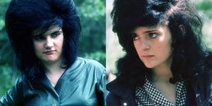 """Portraits of Swiss """"Halbstarken"""" Girls With Very Big Hair in the 1950s and 1960s"""