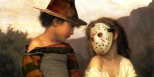 Artists Combine Classical Paintings And Halloween Pop Culture