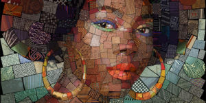 The Fantastic, Beautiful and Colorful Mosaic Portraits by Charis Tsevis