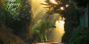 Richard Saunders Creates Giant Bushes In The Shape Of His Deceased Cat